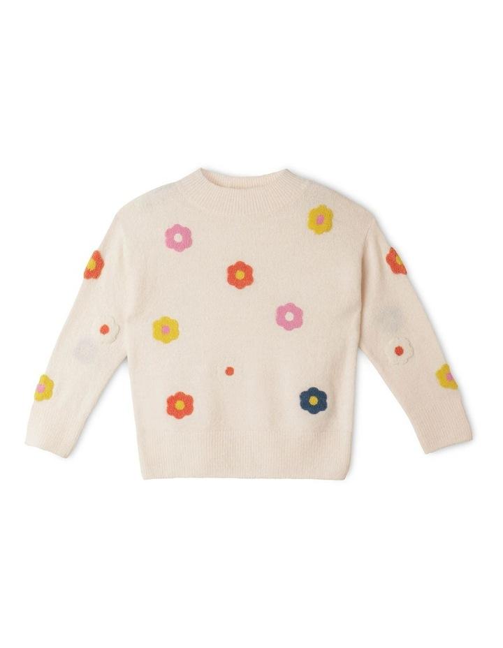 Chenille Instarsia Sweater image 1