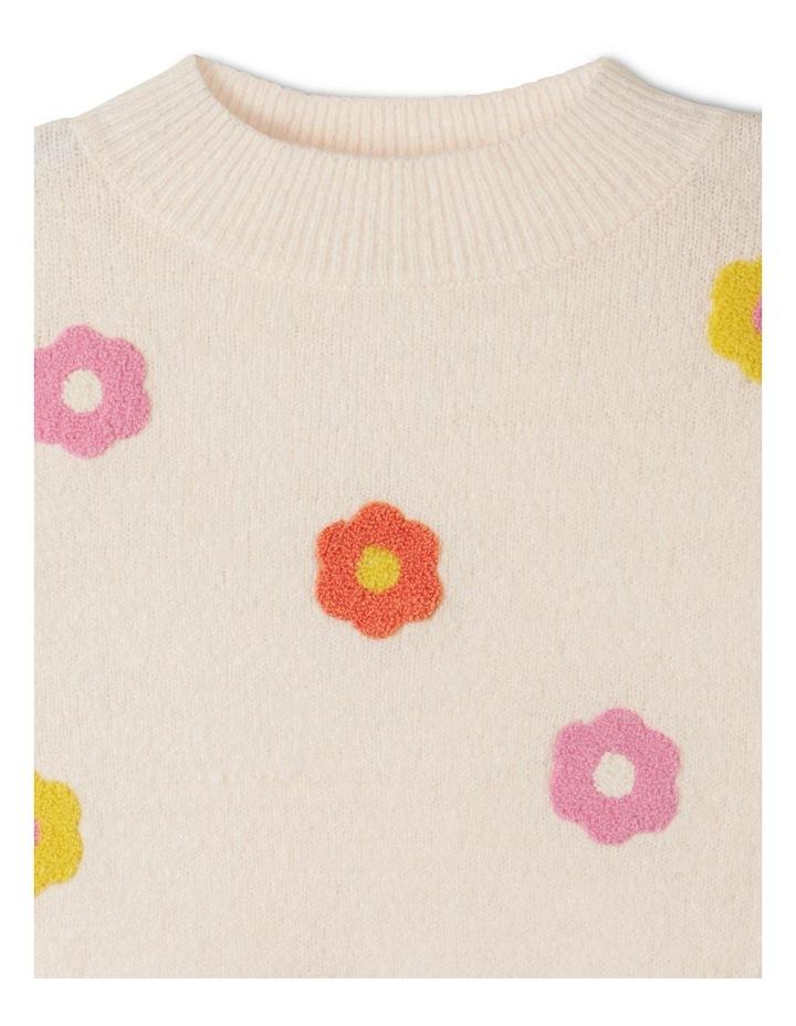 Chenille Instarsia Sweater image 3