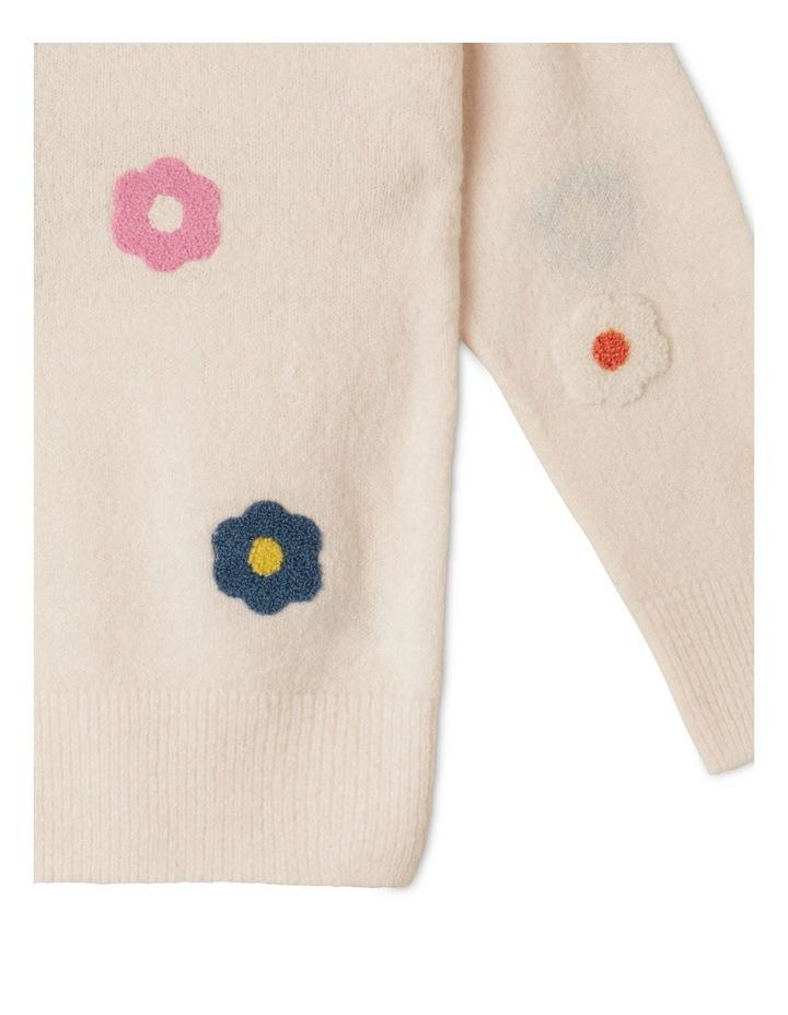 Chenille Instarsia Sweater image 4
