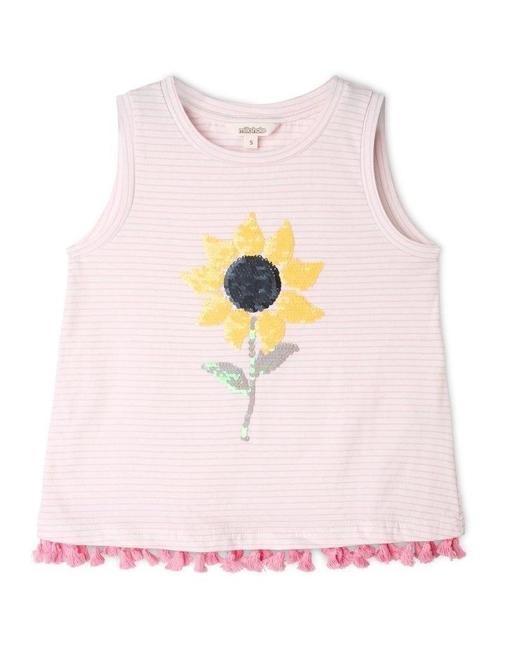 Sunflower Knit Tank image 1