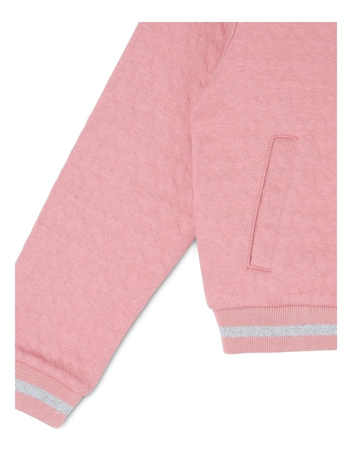 Quilted Zip Through Sweat image 3