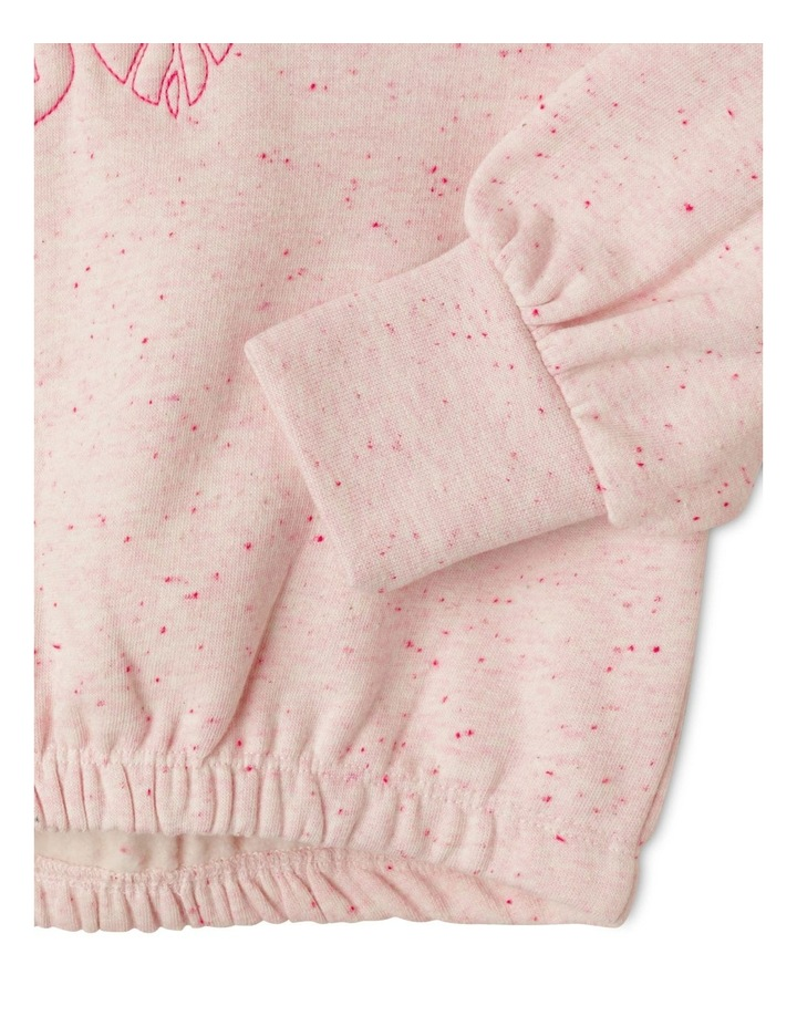 Puff Sleeve Crew Sweater image 5
