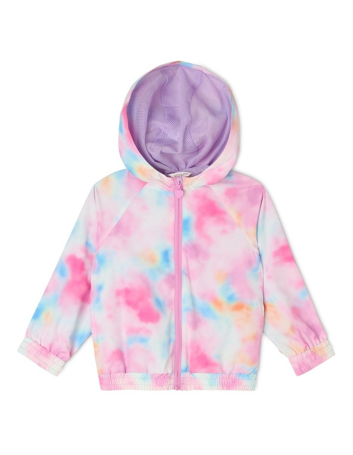 Active Wind Jacket with Cloud Print image 1