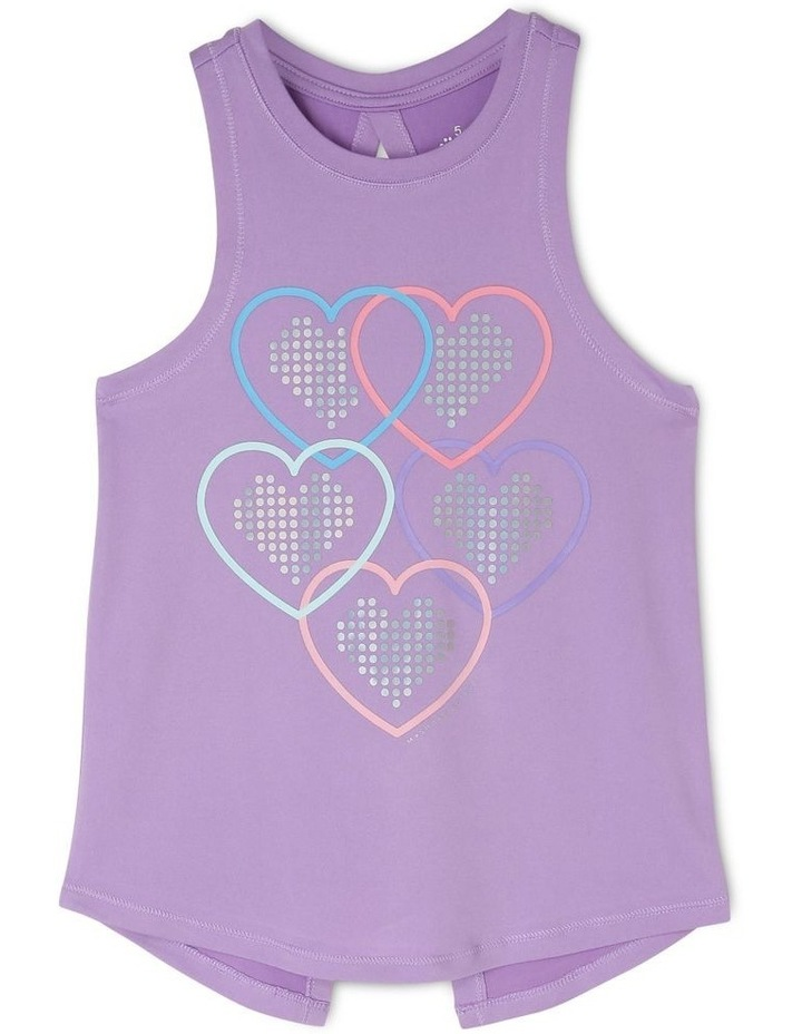 Knit Cross Back Singlet image 1