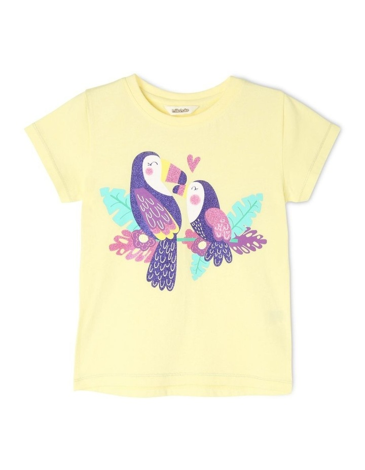 Essentials Short Sleeve Print Tee (Ages 3-8) image 1