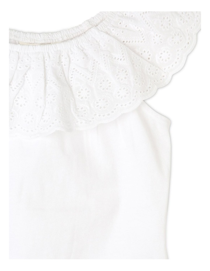 Knit Broderie Frill Neck Tee (Ages 3-8) image 2