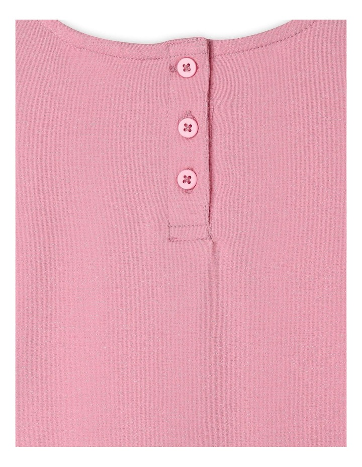 Long-Sleeve Peplum T-Shirt image 4