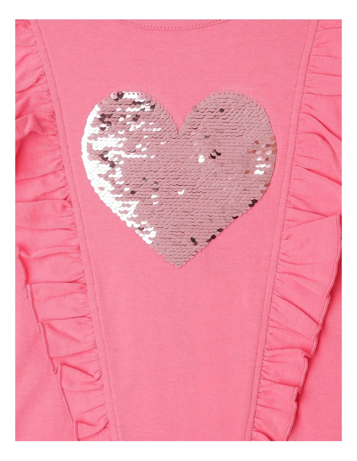 Frill Top with Sequin Heart image 2