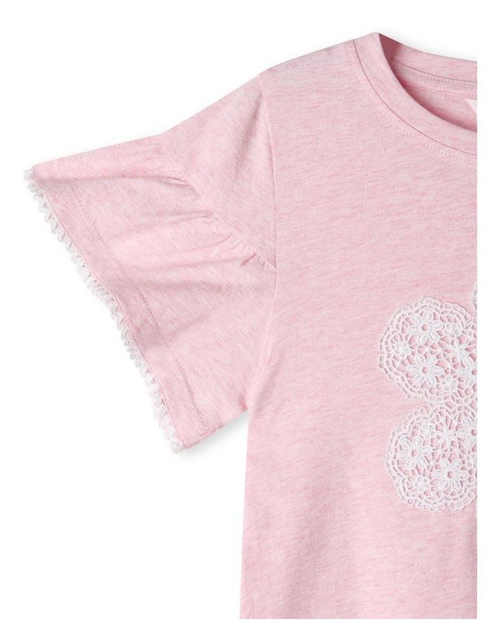 Crochet Applique T-Shirt image 2