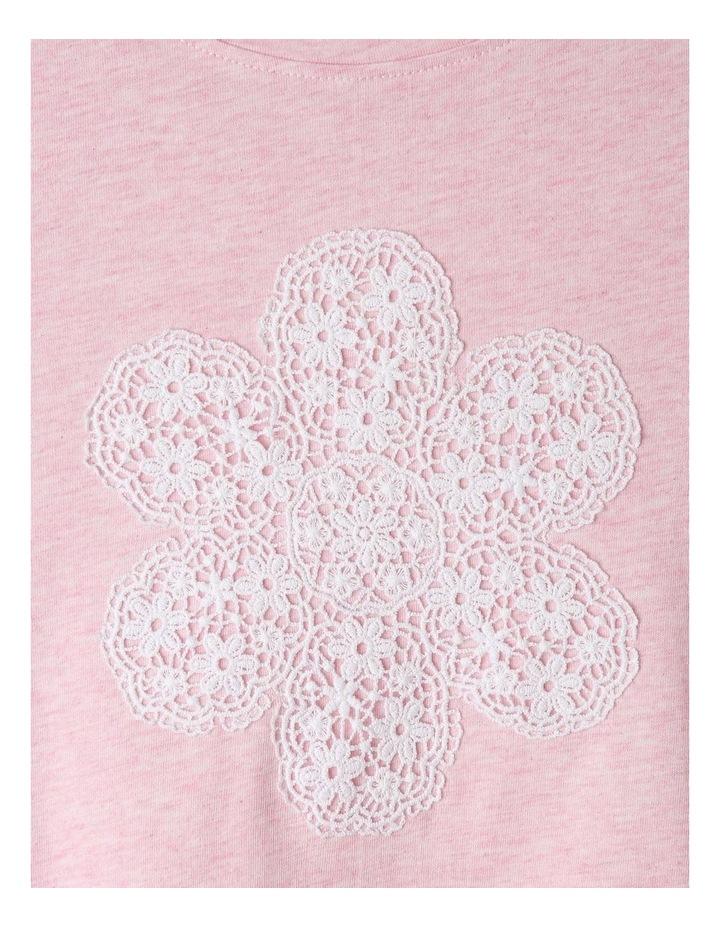 Crochet Applique T-Shirt image 3