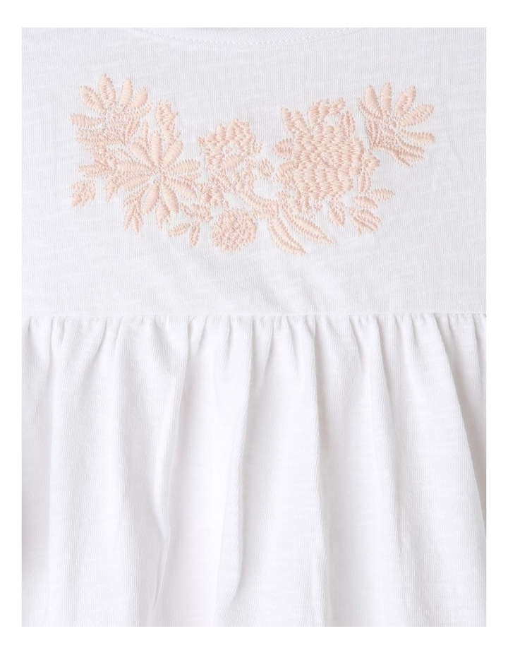 Broderie Knit Top with Frill Trim image 3