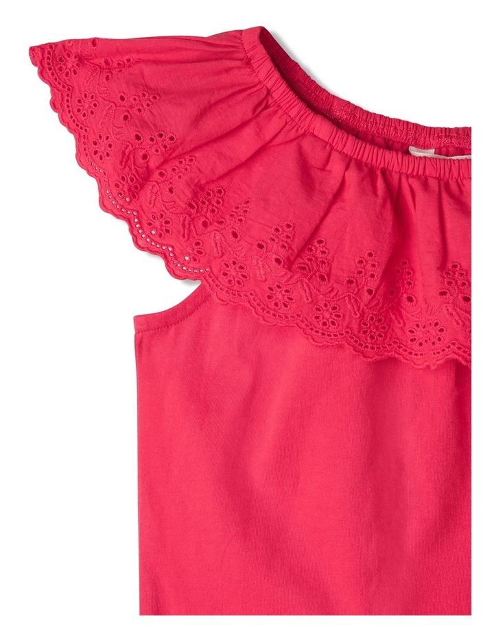 Broderie Ruffle Top image 2