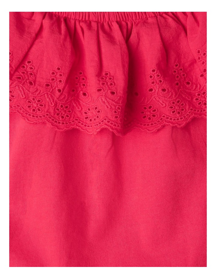 Broderie Ruffle Top image 3