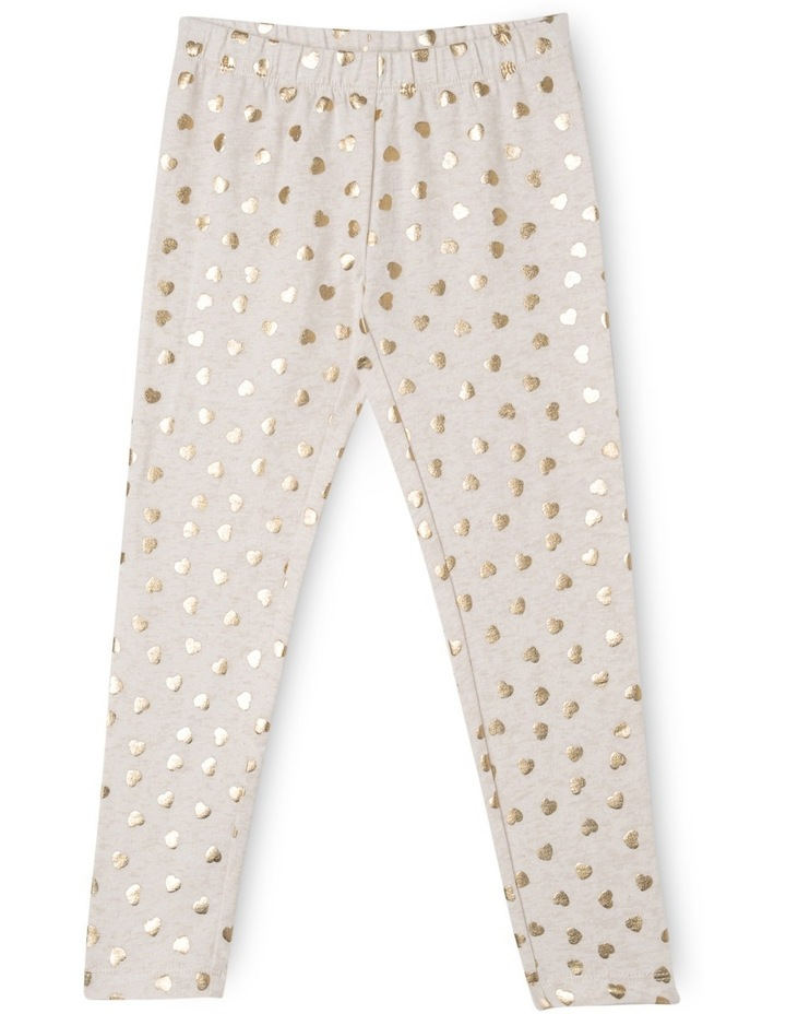 Essentials Metallic Print Legging image 1