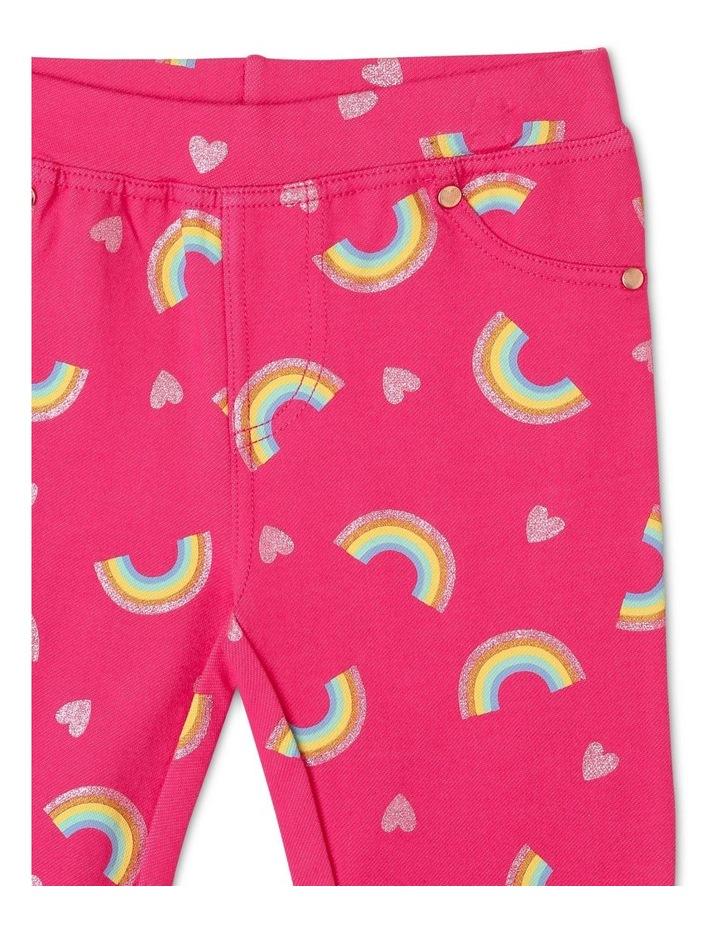 Rainbow Fashion Jegging image 3