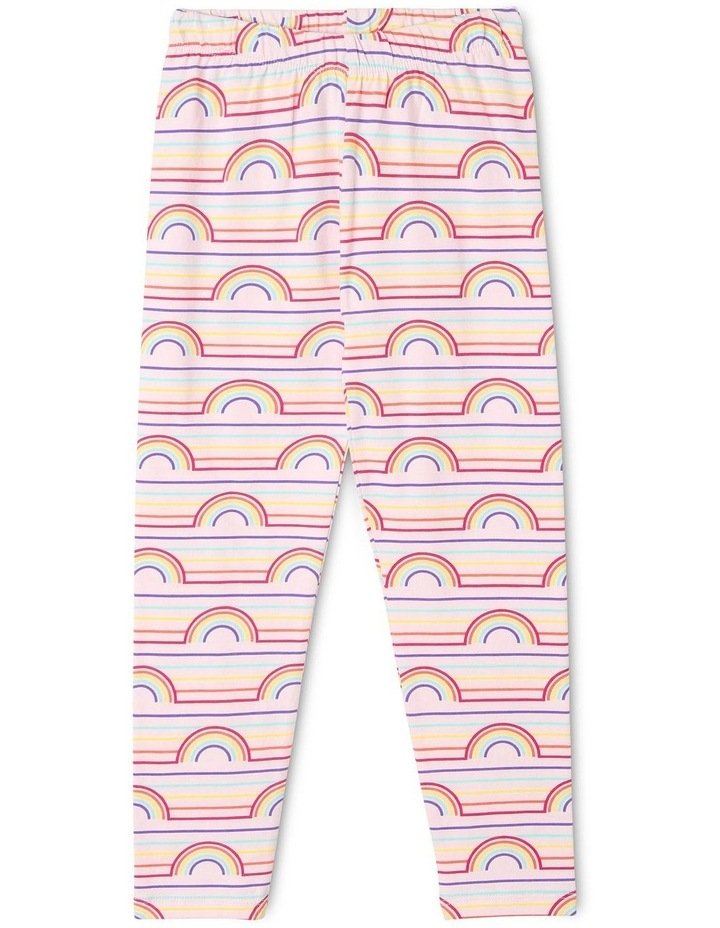 Essentials Rainbow Print Legging image 1