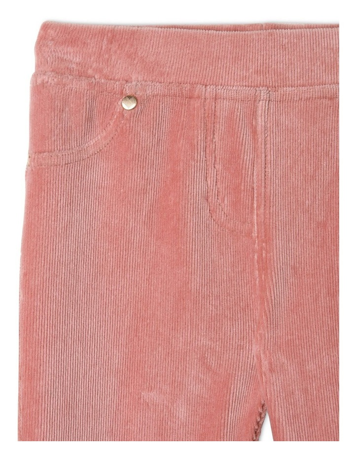 Ribber Velour Jegging image 3