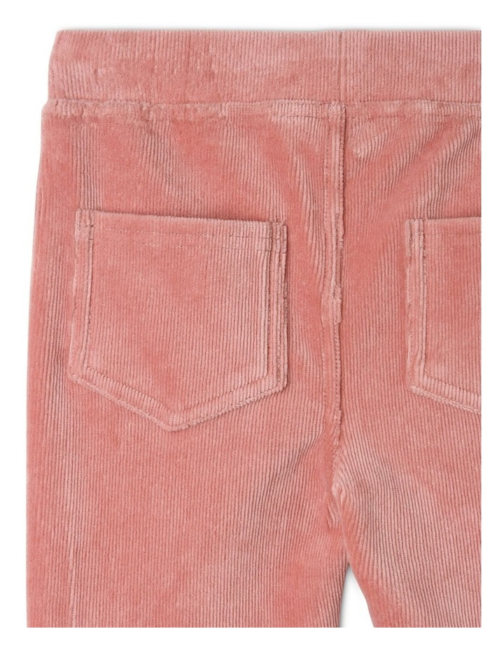 Ribber Velour Jegging image 4