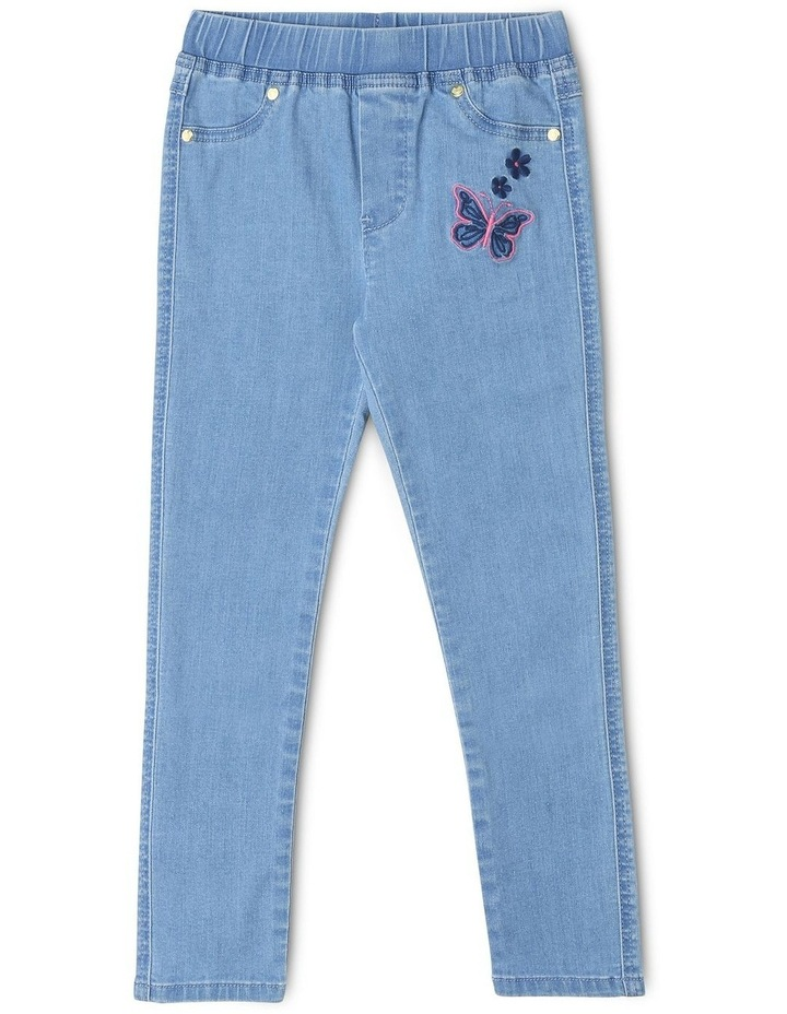 Pull-On Jean in Light Wash image 1