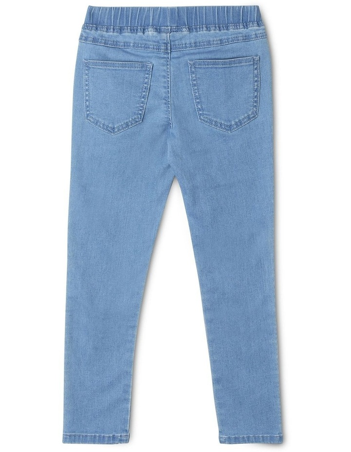 Pull-On Jean in Light Wash image 2