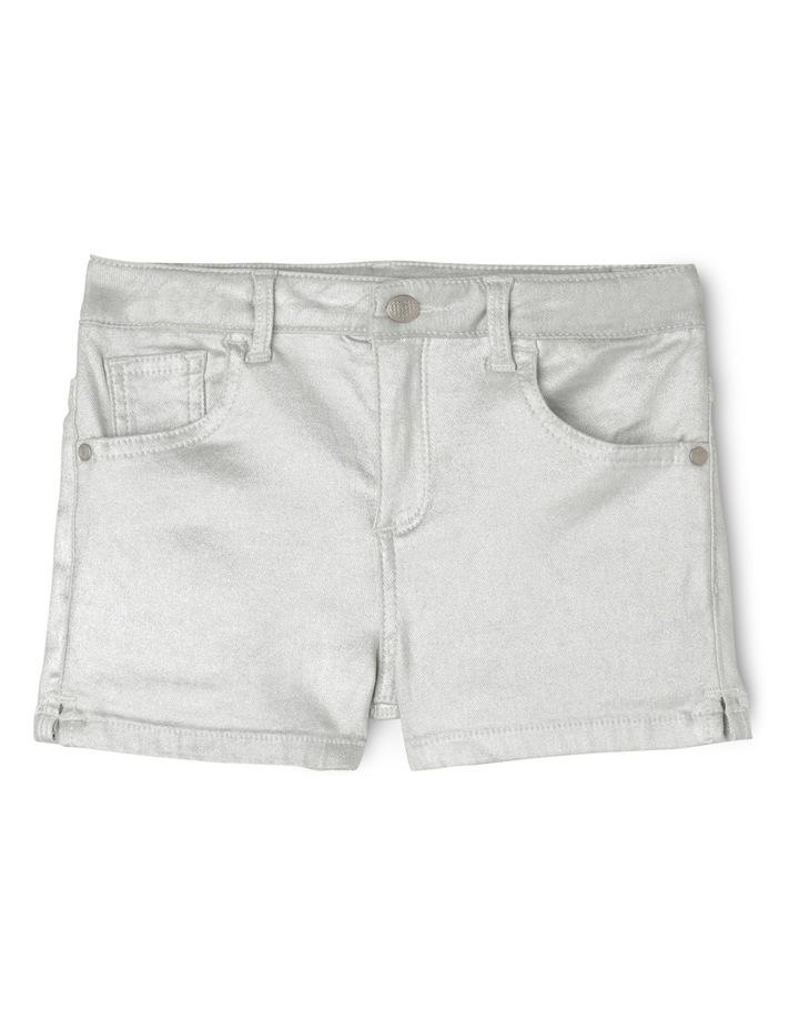 5 Pocket Short - Silver image 1