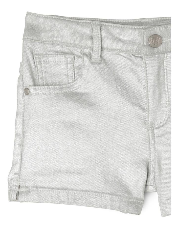 5 Pocket Short - Silver image 2