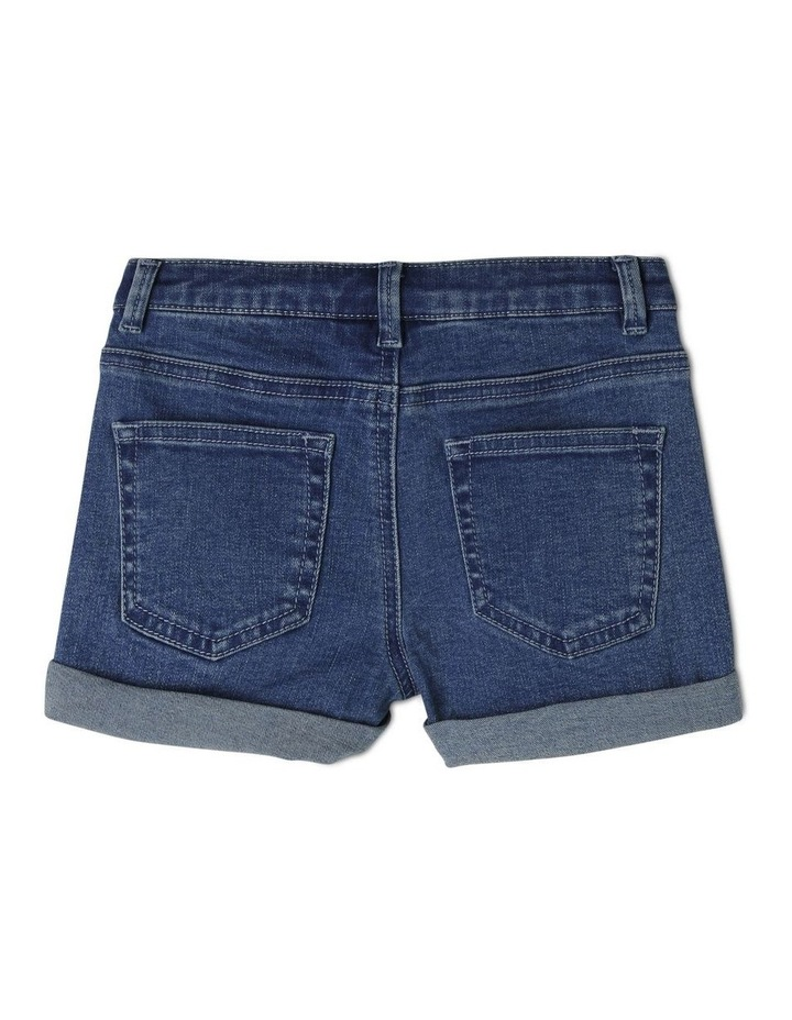 Denim Heart Shorts image 2