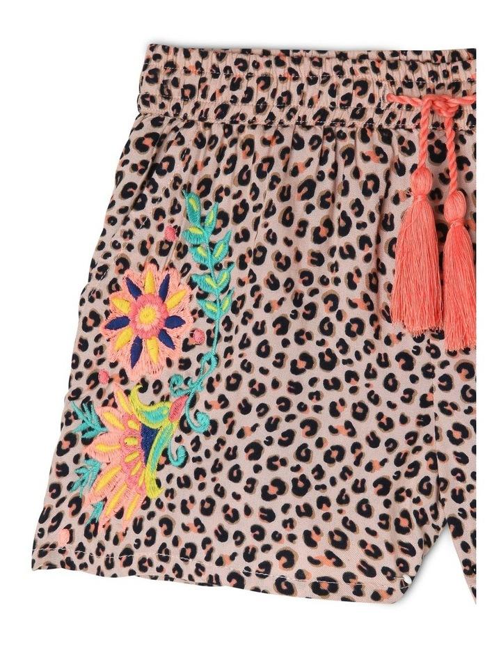 Leopard Floral Shorts image 2