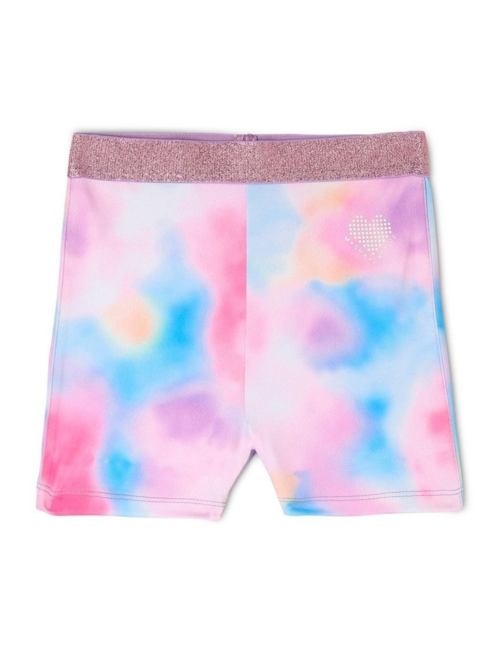Active Bike Short With Cloud Print image 1