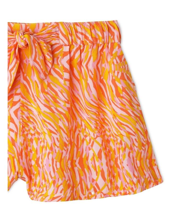 Tie-Front Drape Short image 2