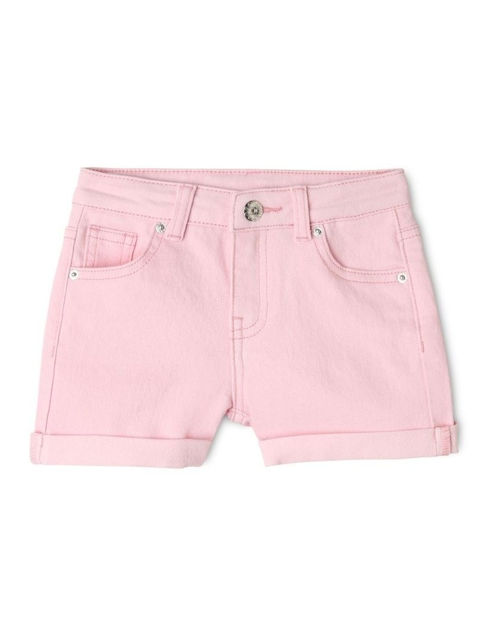 Mid-Rise Shorts with Rolled Cuffs image 1