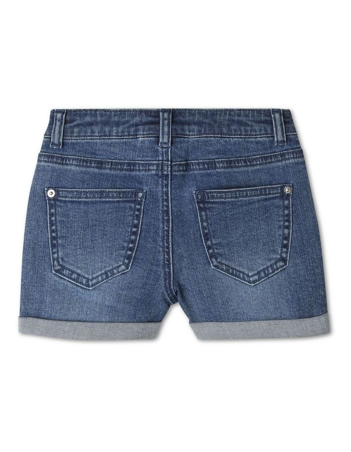 Mid-Rise Shorts with Rolled Cuffs image 2
