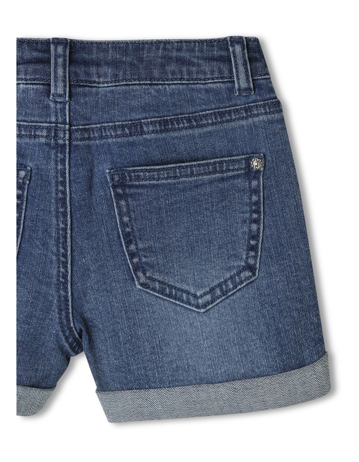 Mid-Rise Shorts with Rolled Cuffs image 4