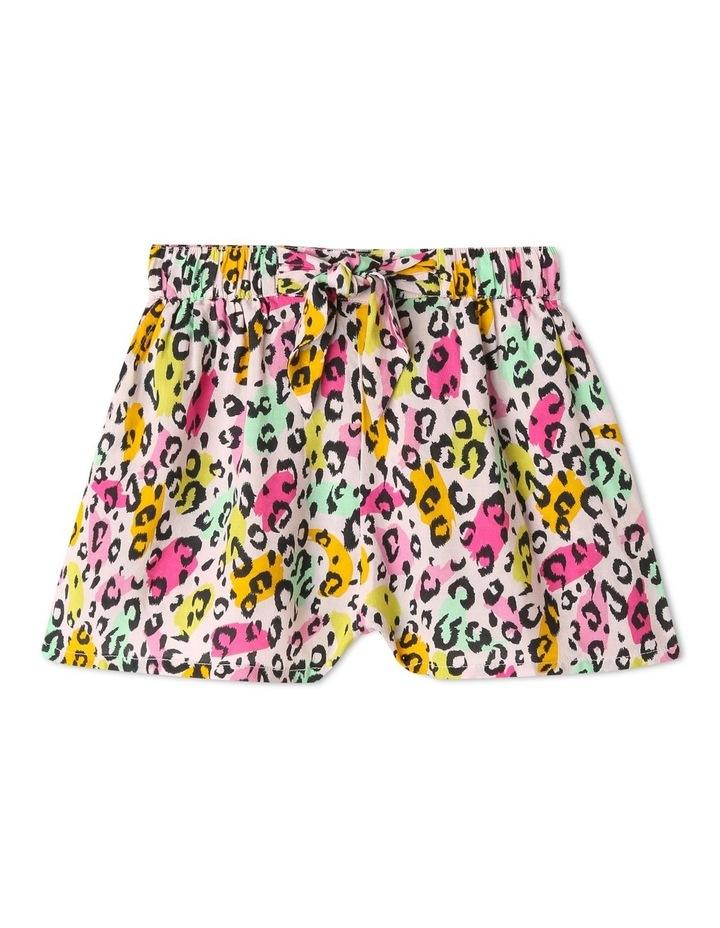 Tie Front Drape  Shorts image 1