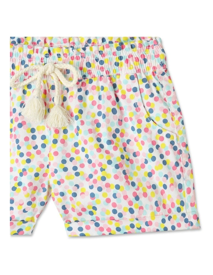 Essentials Woven Shorts White image 2