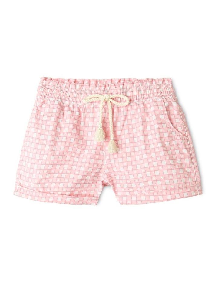 Essentials Woven Shorts Light Pink image 1