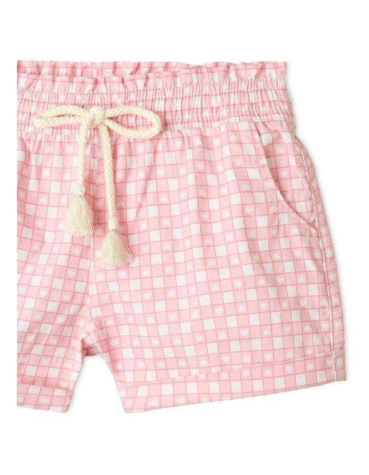 Essentials Woven Shorts Light Pink image 2