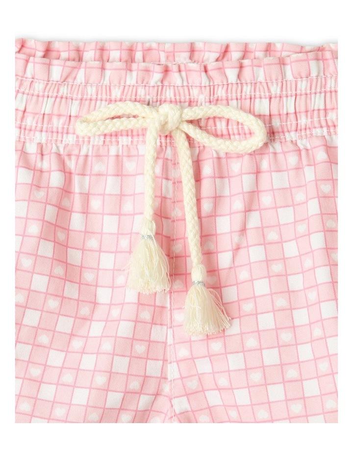 Essentials Woven Shorts Light Pink image 3