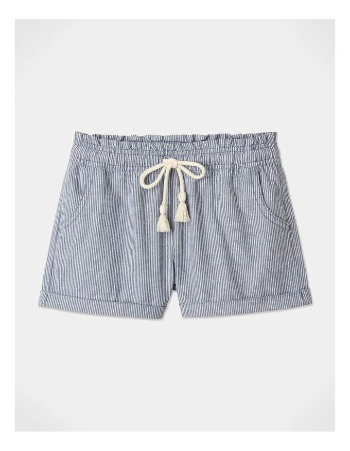 Essentials Woven Shorts Blue image 1