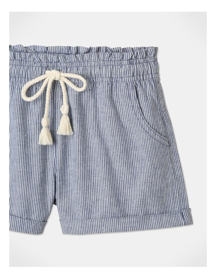 Essentials Woven Shorts Blue image 2