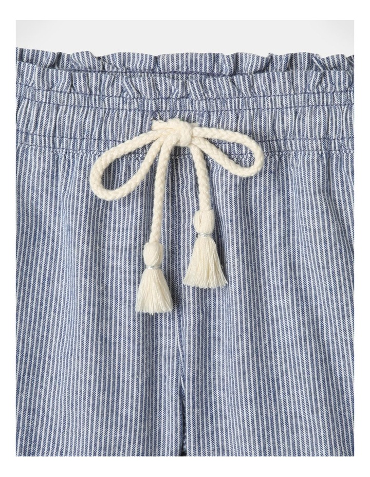 Essentials Woven Shorts Blue image 3