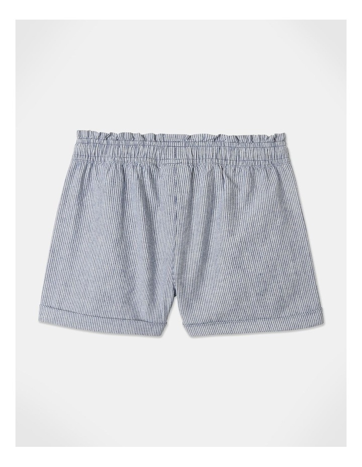 Essentials Woven Shorts Blue image 4