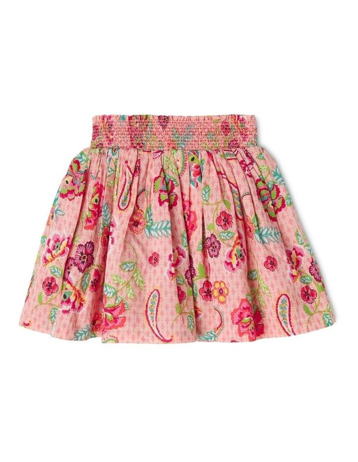 Woven Shirred Waist Skirt image 1