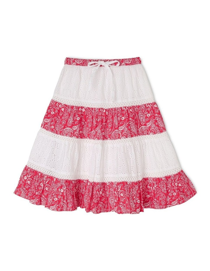 Tiered Mid Length Skirt image 1