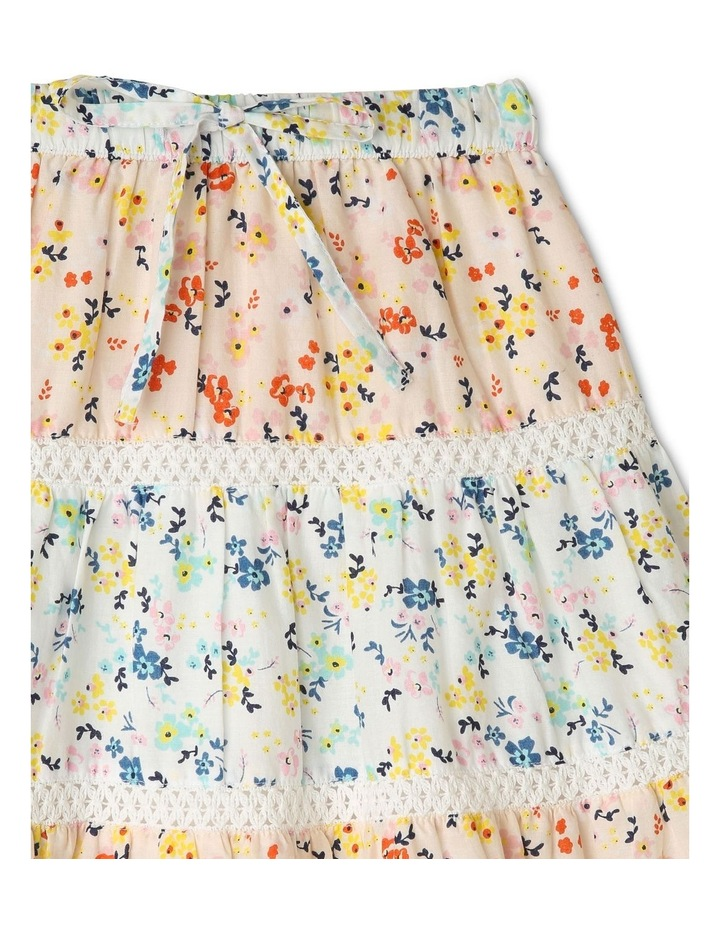 Tiered Midi Skirt image 2