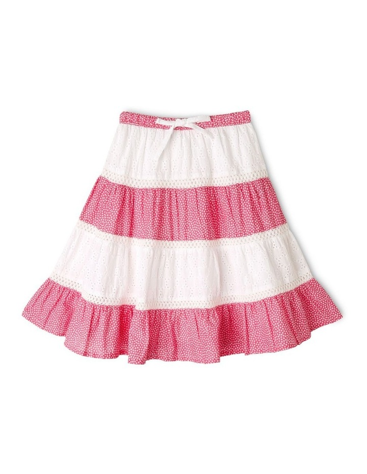 Tiered Midi Skirt image 1