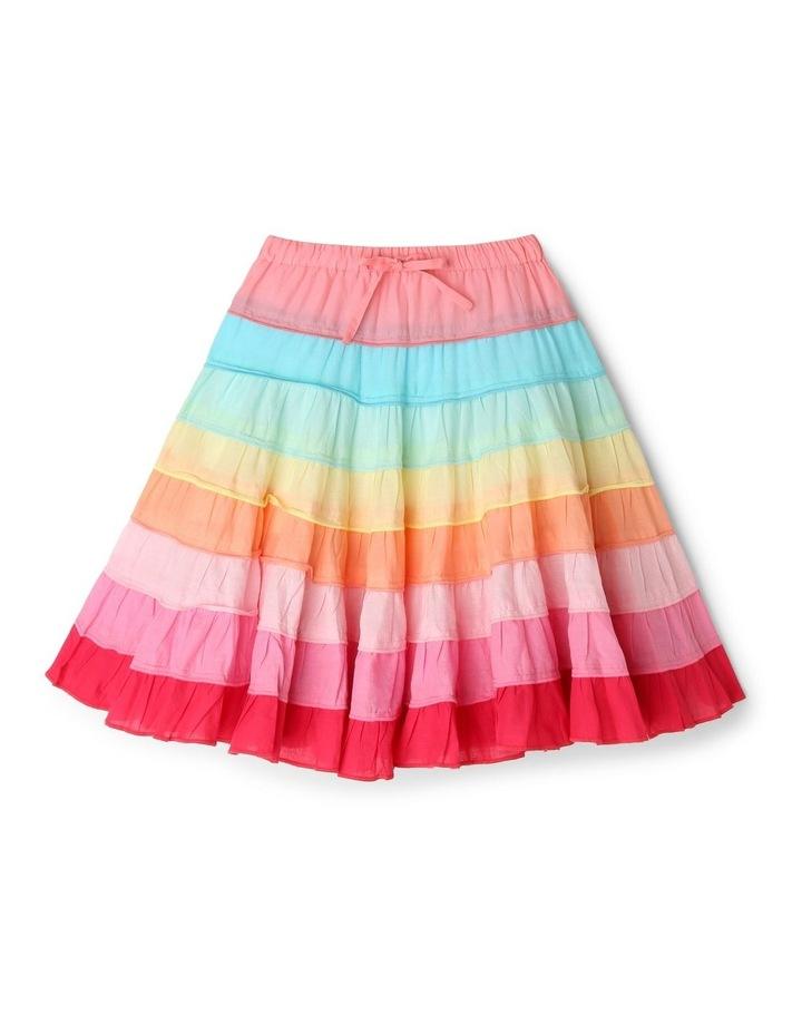 Rainbow Tiered Skirt image 1