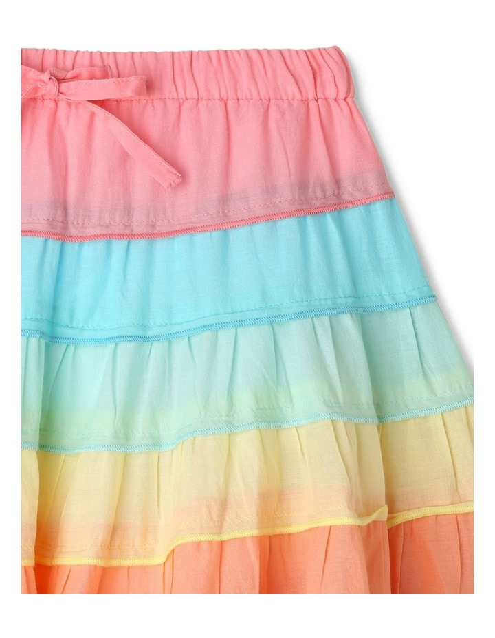 Rainbow Tiered Skirt image 2