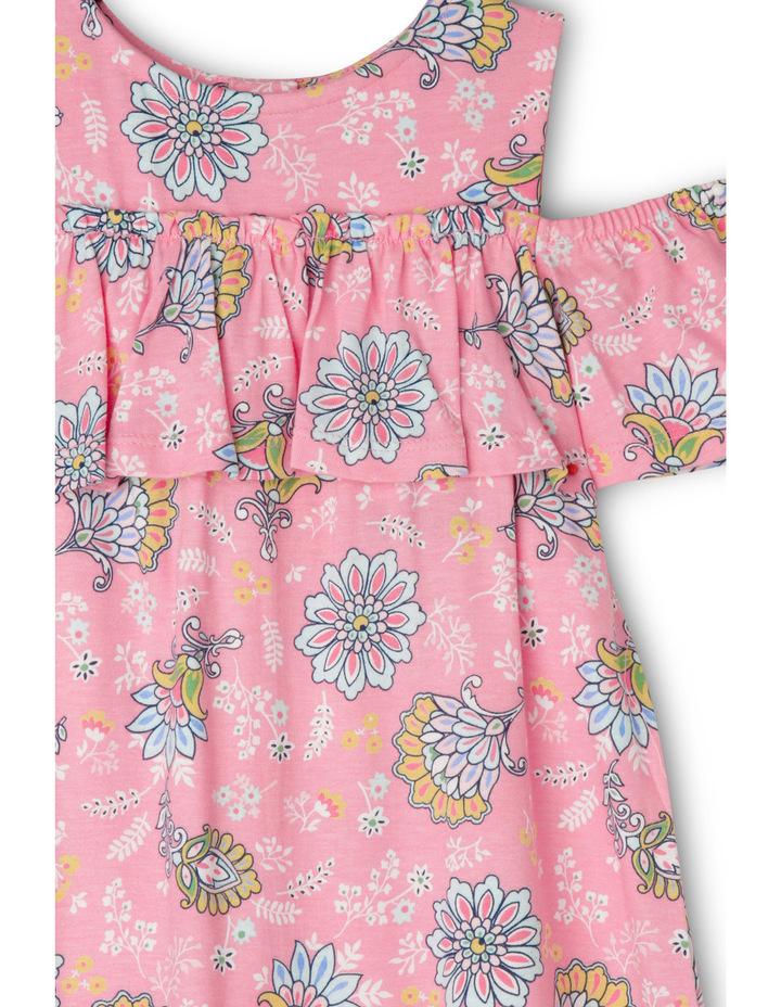 Floral Cold Shoulder Dress image 2