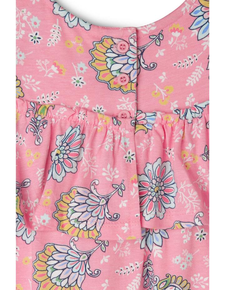 Floral Cold Shoulder Dress image 3